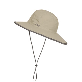 Outdoor Research Rambler Sun Sombrero Kids khaki/dark grey